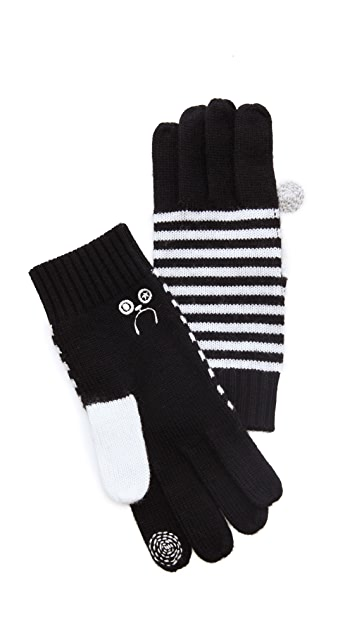 Marc by Marc Jacobs Critter Gloves