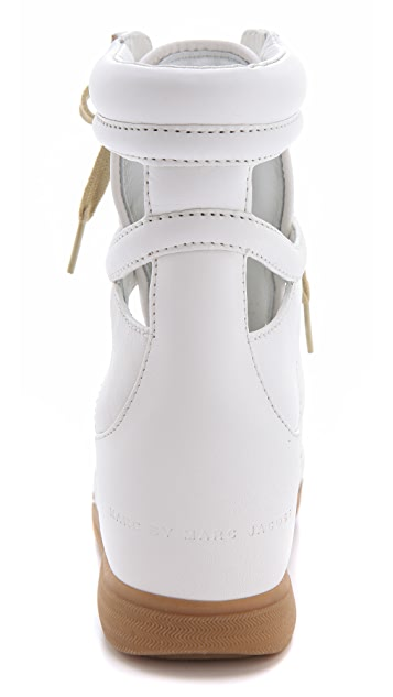 Marc by Marc Jacobs Cutout Sneaker Wedges