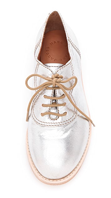Marc by Marc Jacobs Metallic Oxfords