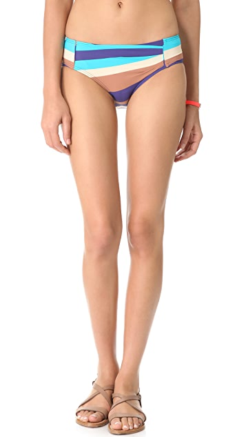 Marc by Marc Jacobs Vintage Stripe Hipster Bikini Bottoms
