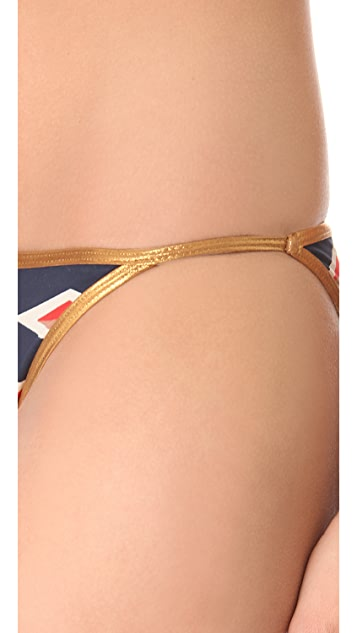 Marc by Marc Jacobs Hayley Stripe Bikini Bottoms