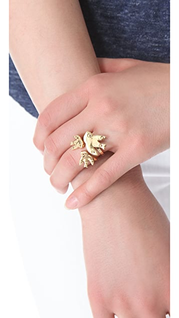 Marc by Marc Jacobs Petal to the Metal Cluster Ring