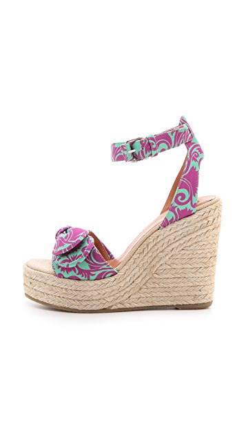 Marc by Marc Jacobs Pretty Know Wedge Espadrille Sandals