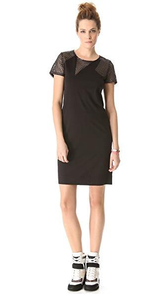 Marc by Marc Jacobs Toni Metallic Dress