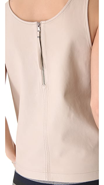 Marc by Marc Jacobs Jett Leather Top