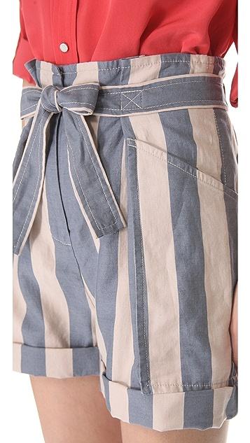 Marc by Marc Jacobs Debbie Stripe Shorts