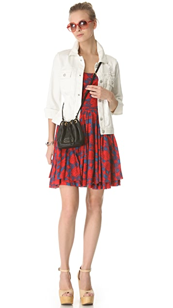 Marc by Marc Jacobs Sam Check Jersey Dress