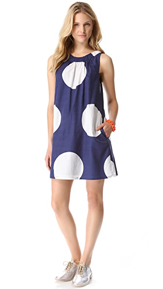Marc by Marc Jacobs Velma Dot Print Dress