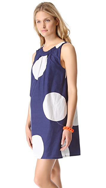 Marc by Marc Jacobs Velma Dot Print Dress