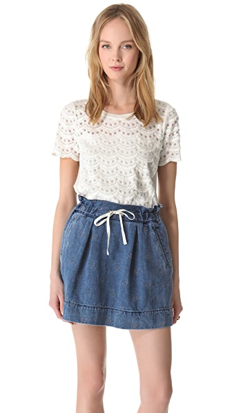 Marc by Marc Jacobs Scallop Tier Lace
