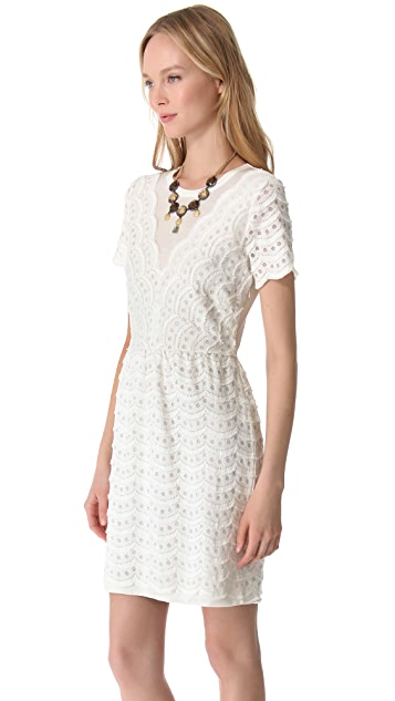 Marc by Marc Jacobs Scallop Tier Lace Dress