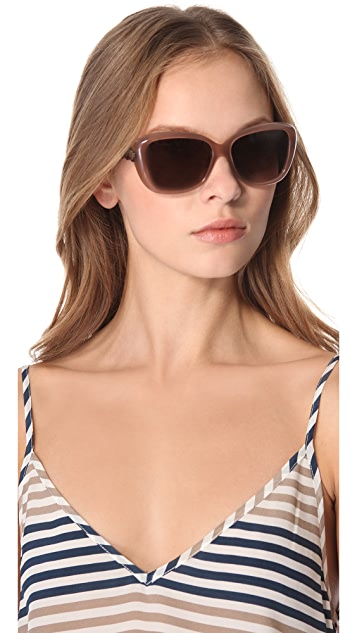 Marc by Marc Jacobs Logo Disc Oversized Sunglasses