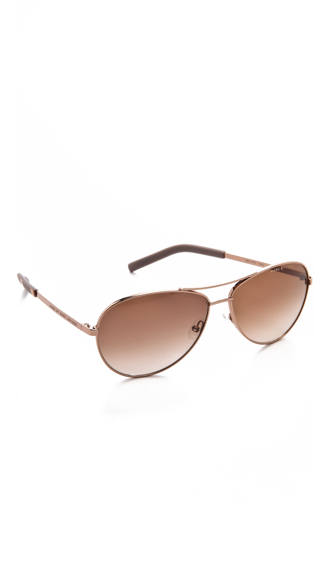 32fe5395048 Marc by Marc Jacobs Metal Aviator Sunglasses