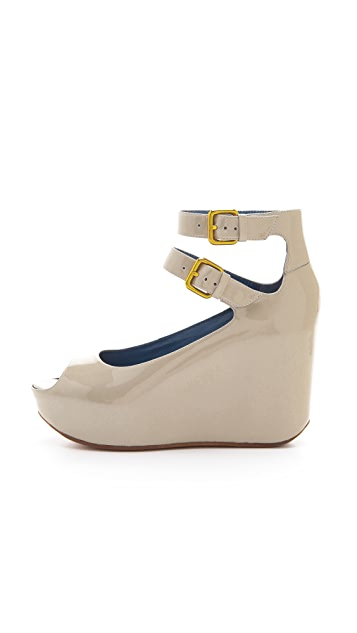 Marc by Marc Jacobs Concealed Wedge Sandals