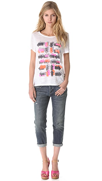 Marc by Marc Jacobs Standard Supply Jessie Boyfriend Crop Jeans