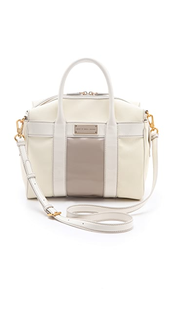 Marc by Marc Jacobs Marc'D & Check'D Small Satchel