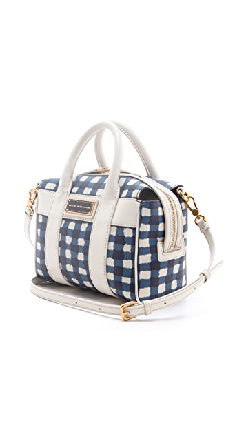 Marc by Marc Jacobs Marc'D & Check'D Mini Satchel