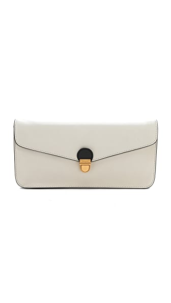 Marc by Marc Jacobs Top Chicret Two Tone Oversized Clutch