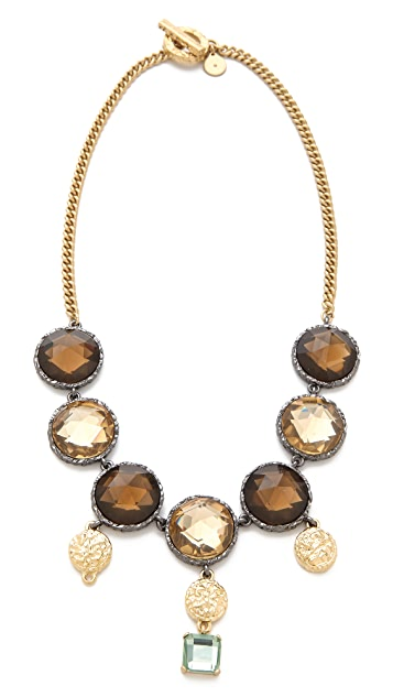 Marc by Marc Jacobs Paste & Prints Crystal Drop Necklace