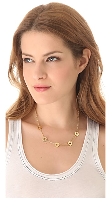 Marc by Marc Jacobs Bolts Necklace