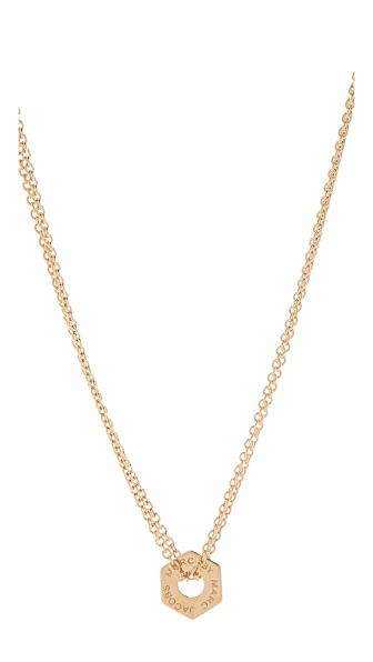 Marc by Marc Jacobs Tiny Bolts Necklace