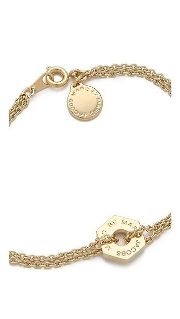 Marc by Marc Jacobs Tiny Bolt Bracelet