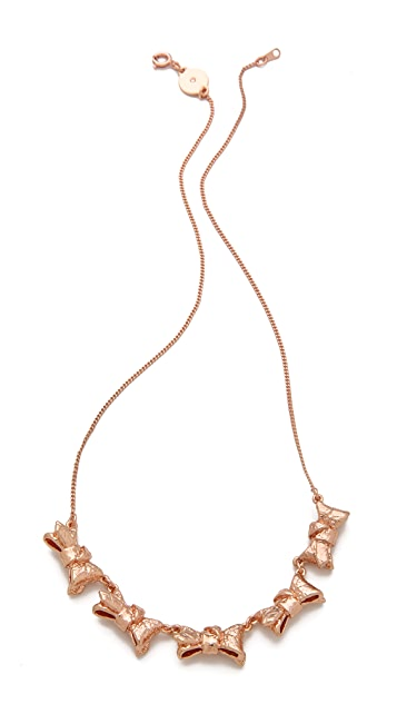 Marc by Marc Jacobs Exploded Bow Link Necklace