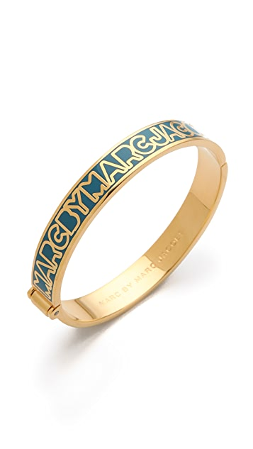 Marc by Marc Jacobs Classic Marc Skinny Hinge Bangle