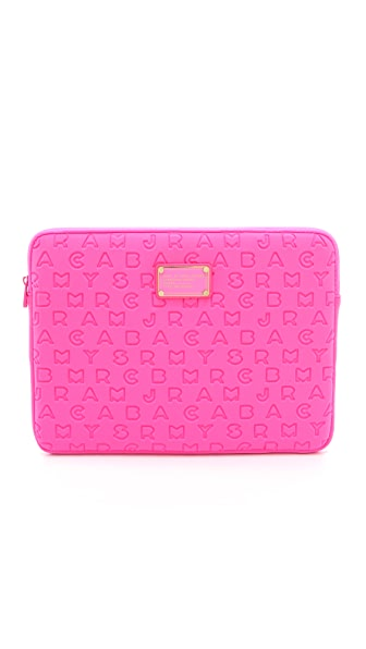 "Marc by Marc Jacobs Dreamy Logo Neoprene 13"" Computer Case"