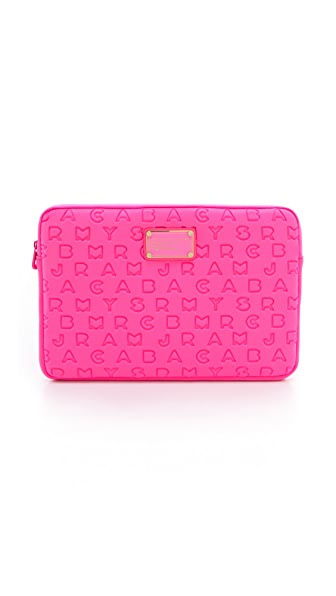 "Marc by Marc Jacobs Dreamy Logo Neoprene 11"" Computer Case"