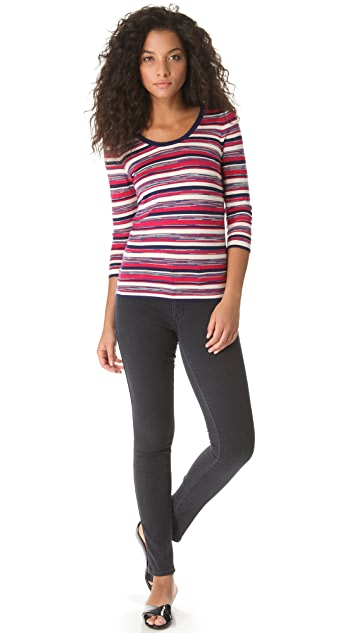 Marc by Marc Jacobs Marion Striped Sweater