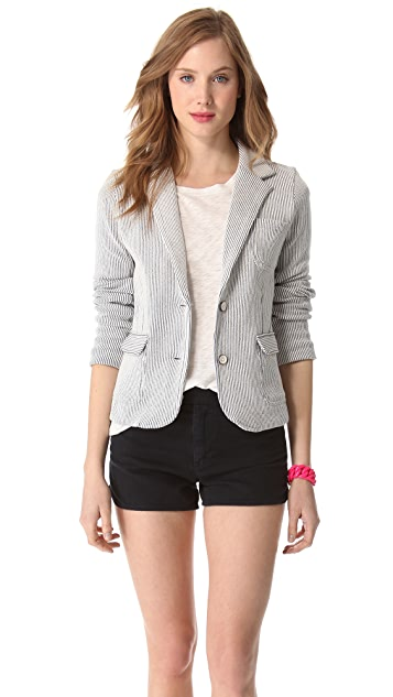 Marc by Marc Jacobs Seersucker Jersey Blazer