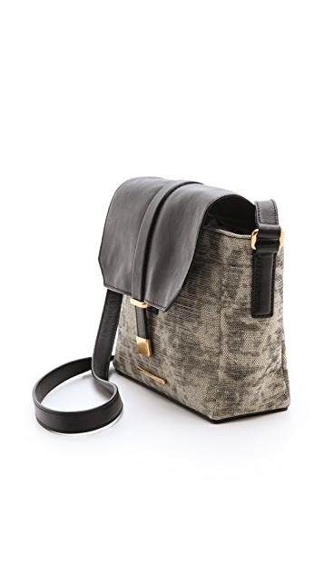 Marc by Marc Jacobs Natural Selection Distressed Mini Messenger