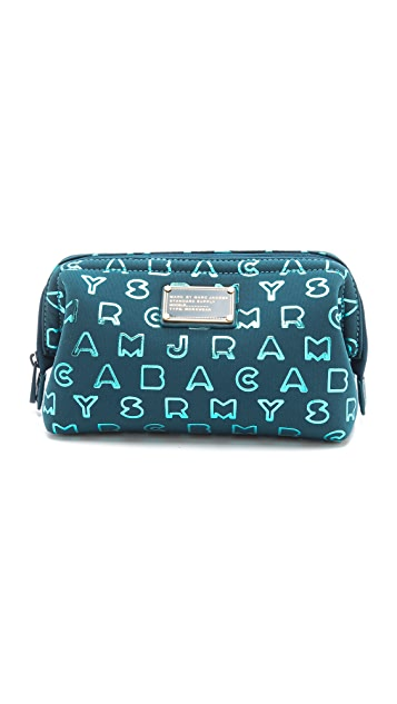 Marc by Marc Jacobs Dreamy Logo Neoprene Big Bliz Pouch