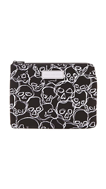 Marc by Marc Jacobs Neoprene Neon Skulls Tablet Zip Case