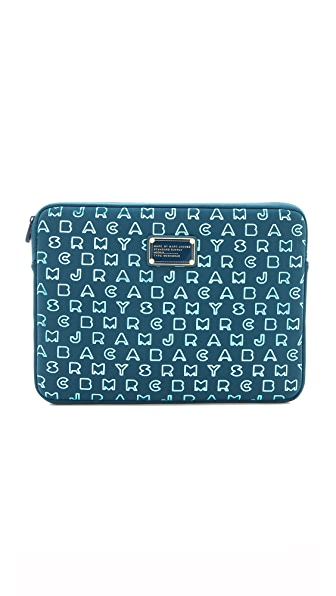 "Marc by Marc Jacobs Dreamy Logo Neoprene Metallic 13"" Computer Case"