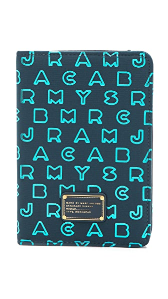 Marc by Marc Jacobs Dreamy Logo Neoprene Metallic iPad Mini Book