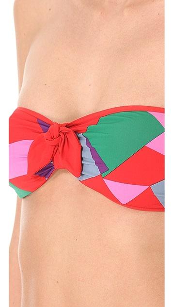 Marc by Marc Jacobs Bandeau Bikini Top