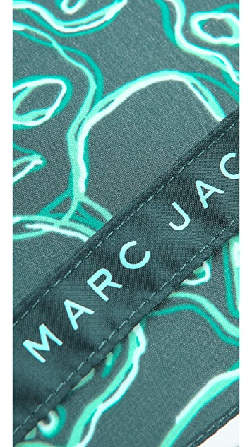 Marc by Marc Jacobs Neon Skulls Umbrella