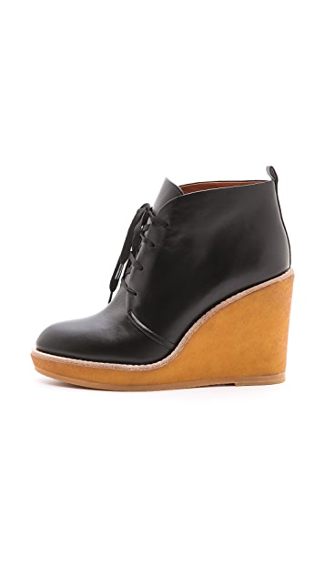 Marc by Marc Jacobs Wedge Lace Up Booties