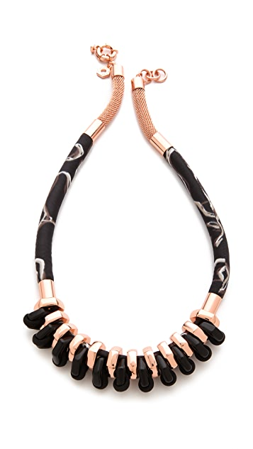 Marc by Marc Jacobs Multi Woven Bolt Necklace