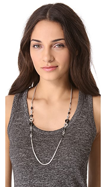 Marc by Marc Jacobs Long Bolt Link Necklace