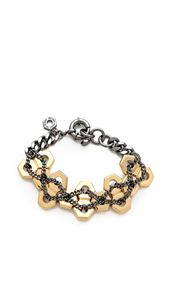 Marc by Marc Jacobs Bolt Watch Chain Bracelet