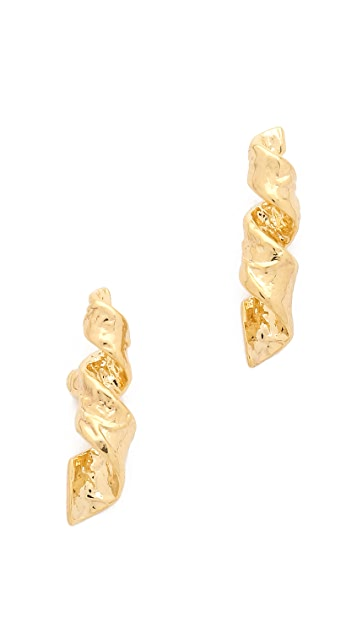 Marc by Marc Jacobs Apocalyptic Twist Stud Earrings