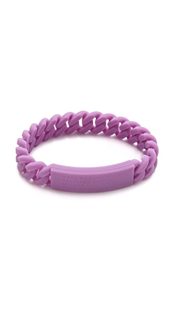 Marc by Marc Jacobs Rubber Standard Supply Bracelet