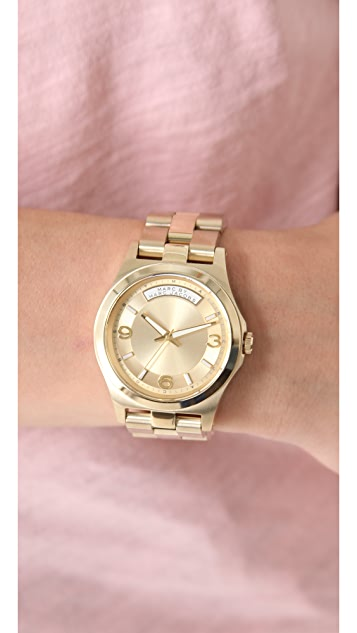 Marc by Marc Jacobs Gold Dave Watch