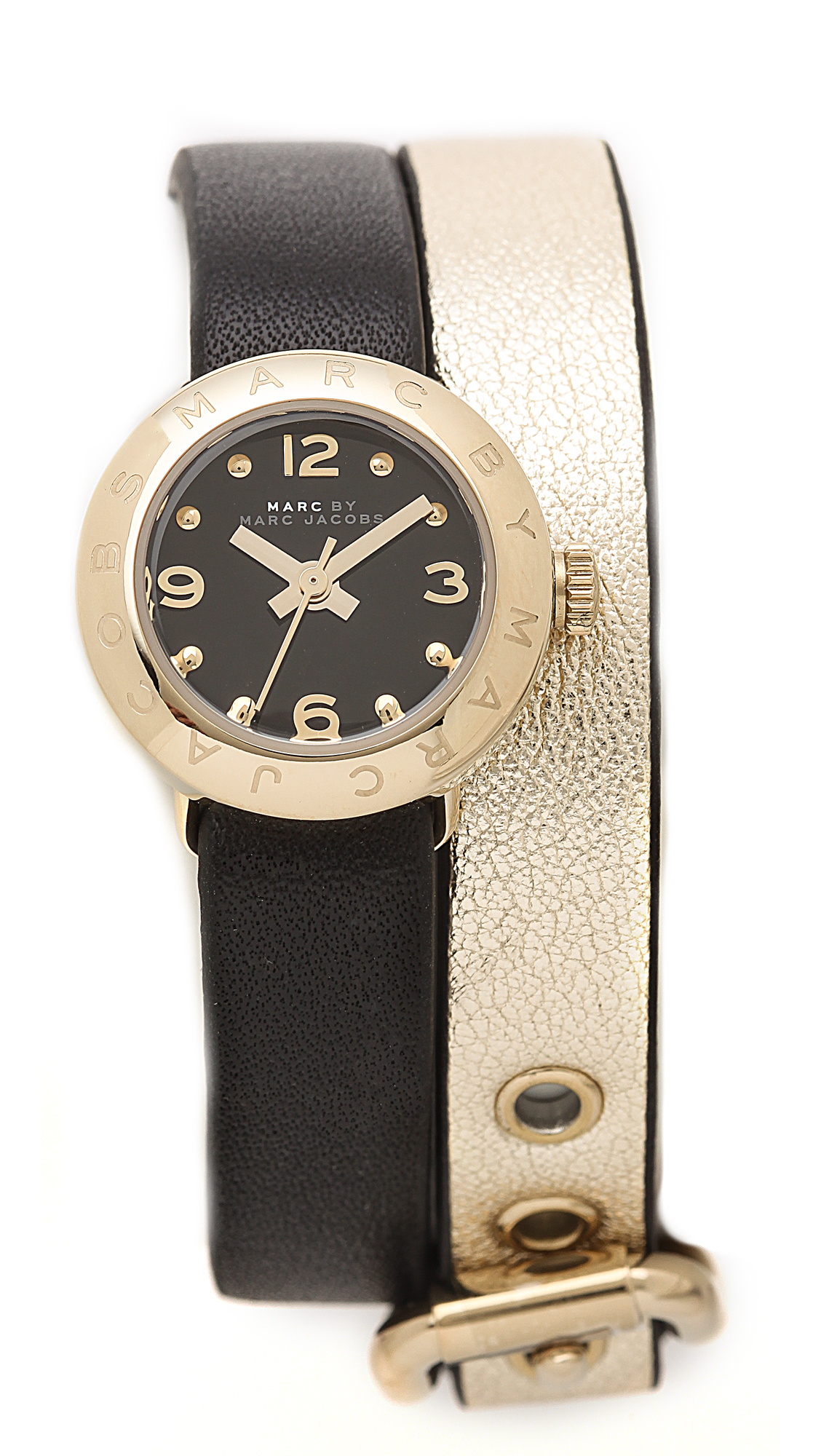 9c457d9963 Marc by Marc Jacobs Amy Double Wrap Leather Watch   SHOPBOP
