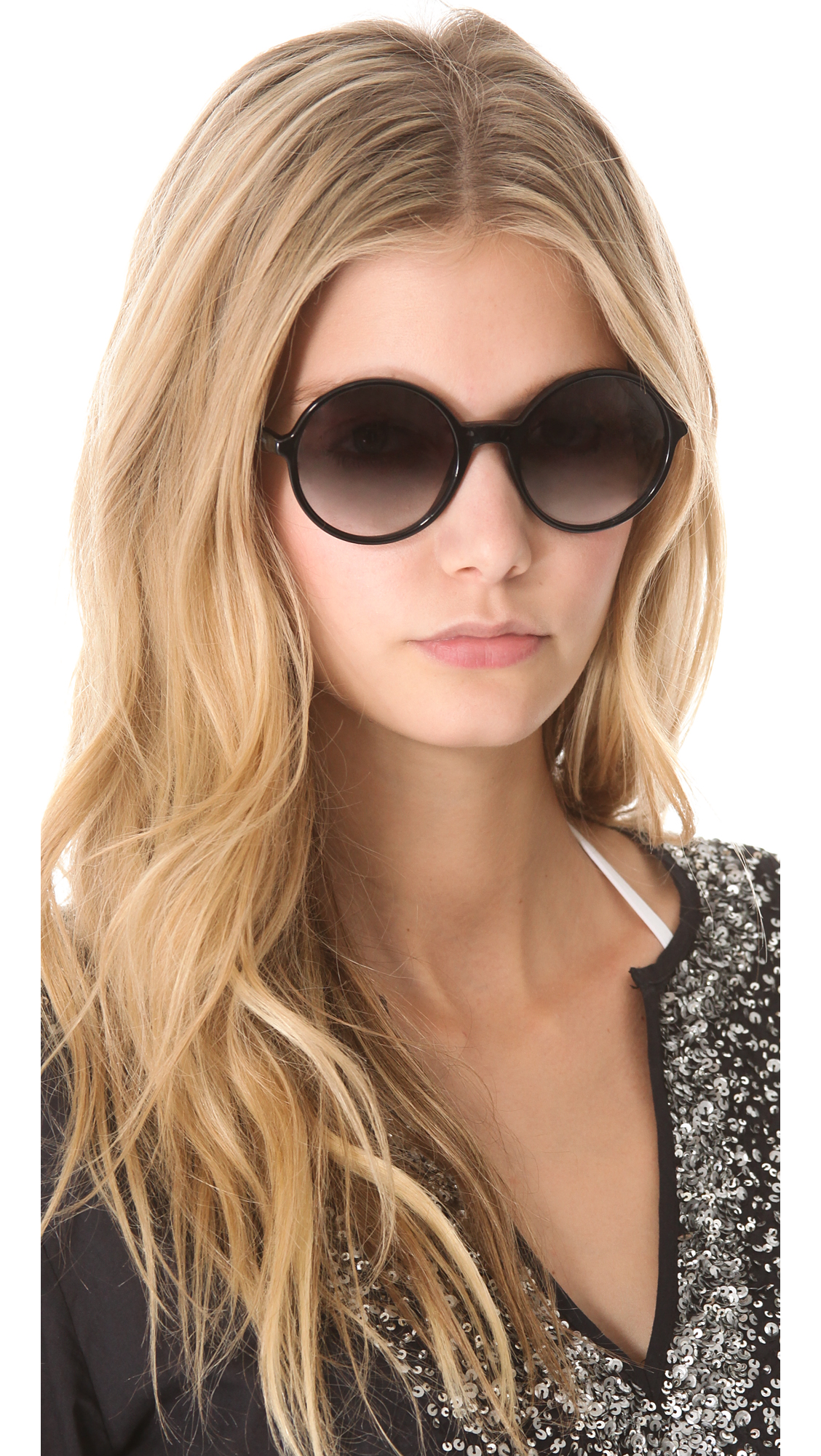 4ef98f1e7f19 Marc by Marc Jacobs Oversized Round Sunglasses | SHOPBOP