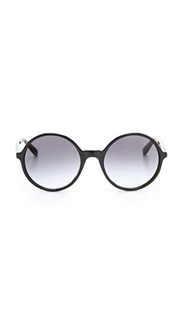 Marc by Marc Jacobs Oversized Round Sunglasses