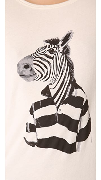 Marc by Marc Jacobs Mr. Zebra Tee